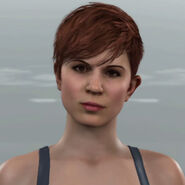 Brown haired Traci Detroit Become Human