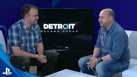 Detroit Become Human - E3 2016 LiveCast PS4
