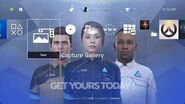 Detroit Become Human CyberLife Dynamic Theme PS4