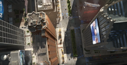 Detroit opening 2 above view DBH