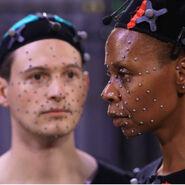 Bryan Dechart and Simbi Khali