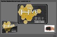Hive membership card concept 2