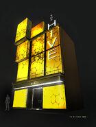 Hive exterior facade concept