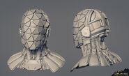 Shadow Operatives helmet sculpt