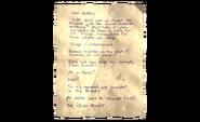 ACP Story Item - Teddys Note