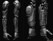 Shadow Operatives arm sculpt2