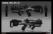 Combat rifle concept