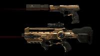 Elite combat rifle with upgrades DXMD
