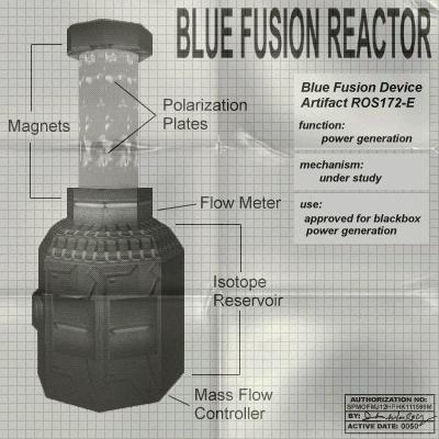 Blue Fusion Reactor