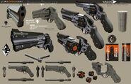 DXHR revolver concept