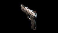 Pistol angle