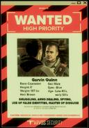 Garvin Quinn wanted poster