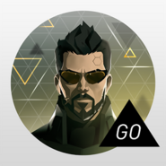 Deus Ex GO logo (Google Play version)