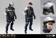 DXMD police concept