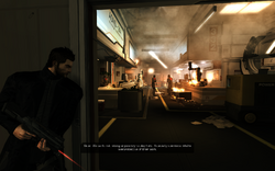 Mission1 cover by door
