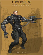 DX3 Barrett concept art