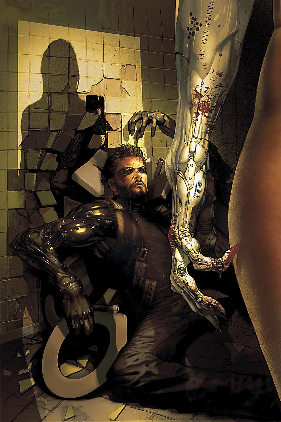 Deus Ex: Human Revolution - The Ghost in the Machine