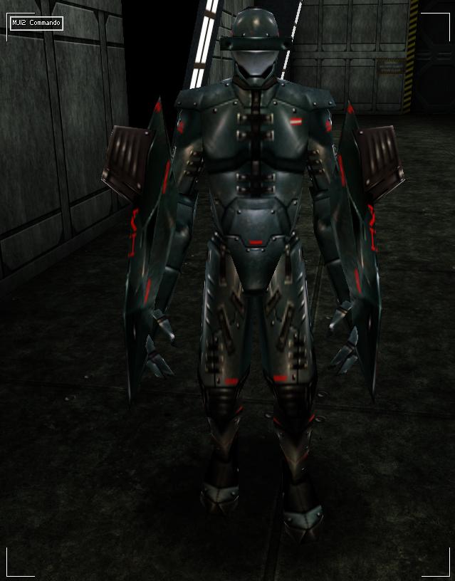 MJ12 Obsidian power armor