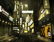 Lower Hengsha streets concept by Richard Dumont
