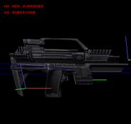 DeusEx-InvisibleWar-Xbox-Model-AssaultSMG