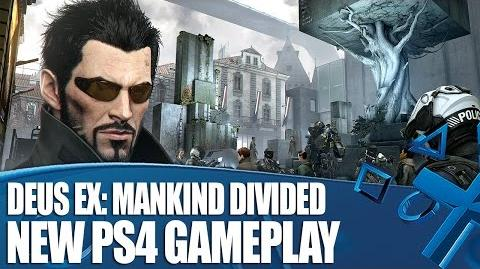 Deus Ex Mankind Divided - New Gameplay on PS4