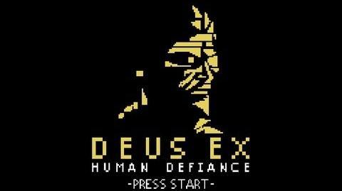 Deus Ex Human Defiance