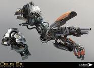 DXMD arm gun