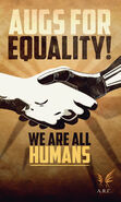 ARC Augs For Equality poster