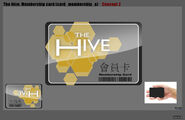 Hive membership card concept 3