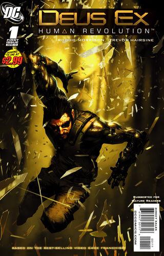 Image of Deus Ex: Human Revolution (2011 comic series)