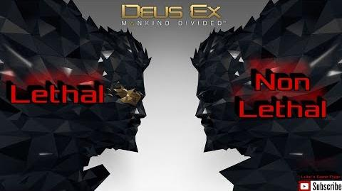 Deus Ex Mankind Divided - Desperate Measures Playthrough - Lethal and Non Lethal