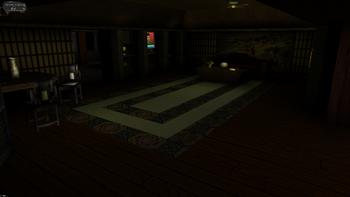 Image of Jock's apartment