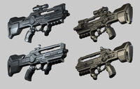 Combat rifle renders DXMD