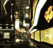 Lower Hengsha street concept