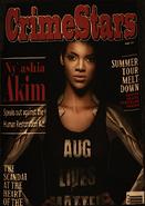 Nyashia Akim magazine