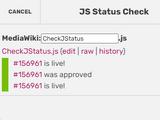 CheckJStatus