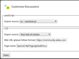 CustomizeDiscussions