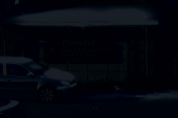 Pinecroft Residential Home in the Winter