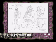 Character Sheet 5- (Japanese DVD)