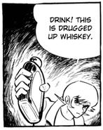 Whiskey knocker
