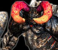 Furiataurus DMC2 Enemy File Close-up