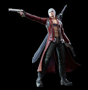 DMC Pinnacle of Combat Dante Render