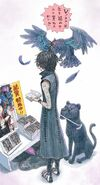 V with familiars DMC5 VoV Volume 1 release illustration Ikeno