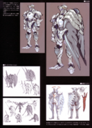 Devil May Cry 4 Devil's Material Collection Bianco concept art 2