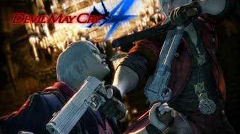 Devil May Cry 4 - Blackened Angel (Dante Battle 1)