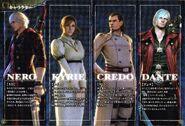 Devil May Cry 4 Manual PlayStation 3 JP ver. (14)