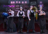 DMC5 Capcom Cafe Artwork