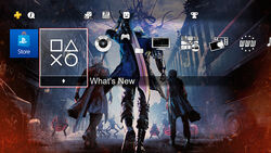 DMC5 PS4 Pre-Order Theme