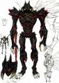 DMC2 True Devil form idea sketch Ikeno 3142