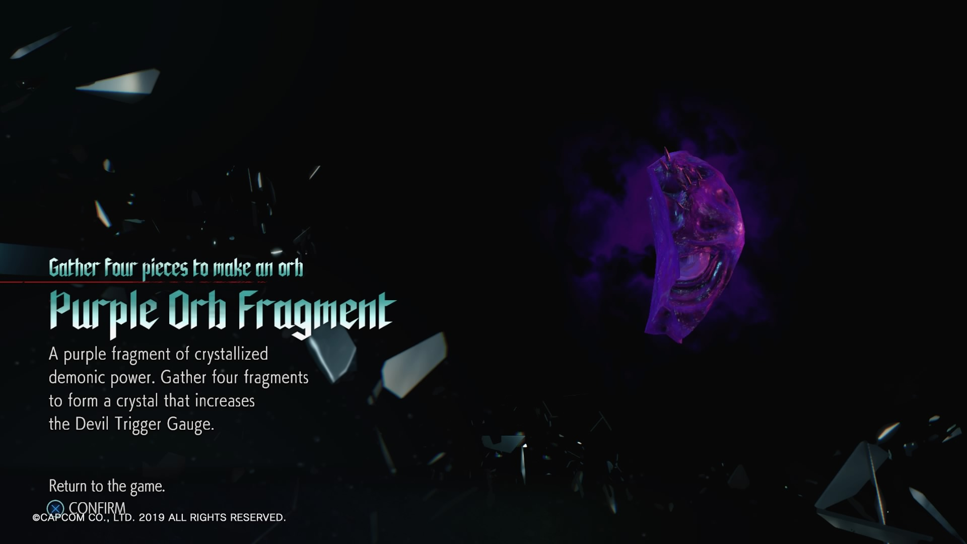 Devil May Cry 5 Purple Orb Fragment Locations